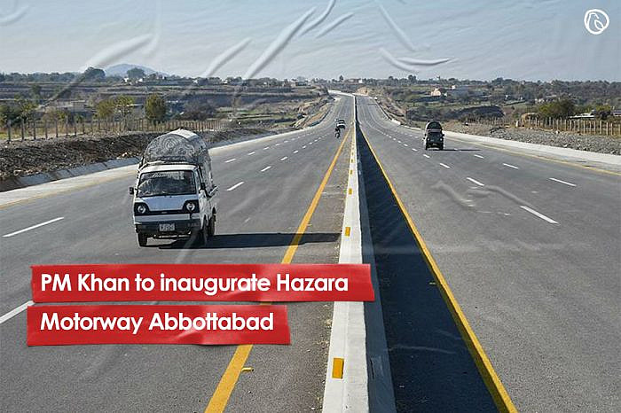 PM Khan to inaugurate Hazara Motorway Abbottabad