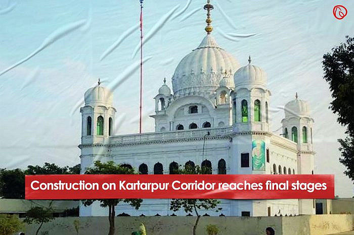 Construction on Kartarpur Corridor reaches final stages