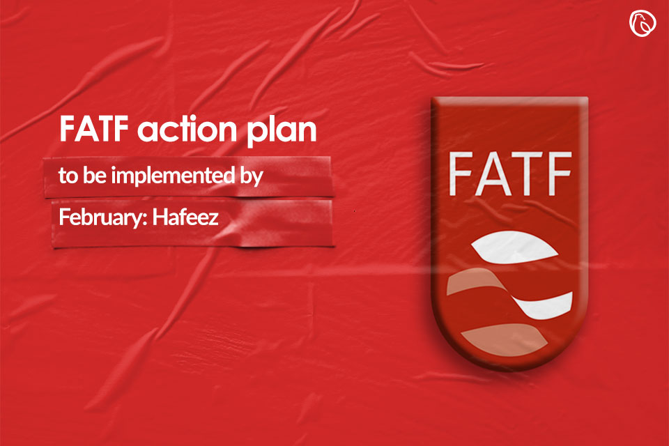 FATF action plan to be implemented by February: Hafeez