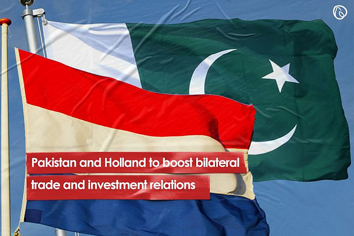 Pakistan and Holland to boost bilateral trade and investment relations