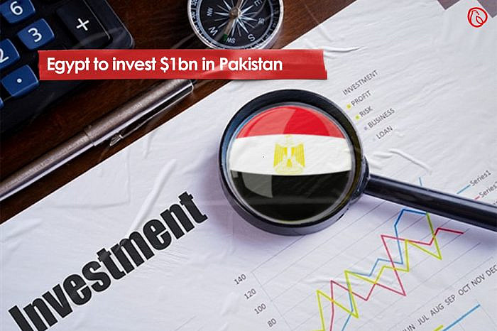 Egypt to invest $1bn in Pakistan