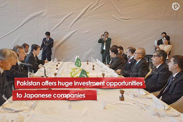 Pakistan offers huge investment opportunities to Japanese companies