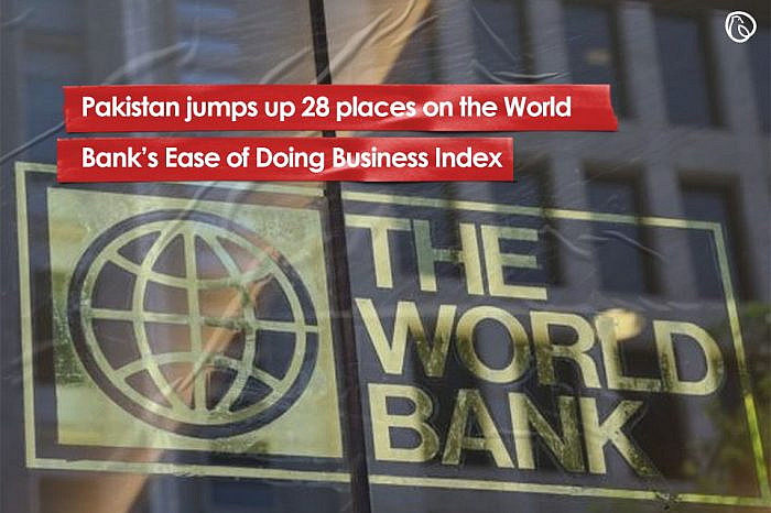 Pakistan jumps up 28 places on the World Bank's Ease of Doing Business Index