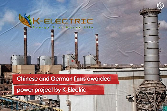 Chinese and German firms awarded power project by K-Electric
