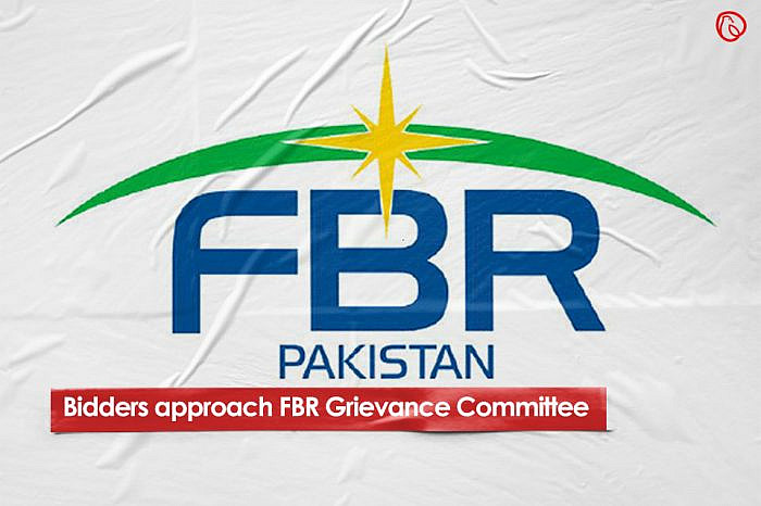 Bidders approach FBR Grievances Committee