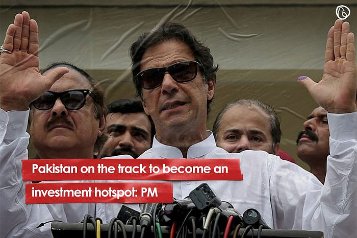 Pakistan on the track to become an investment hotspot: PM