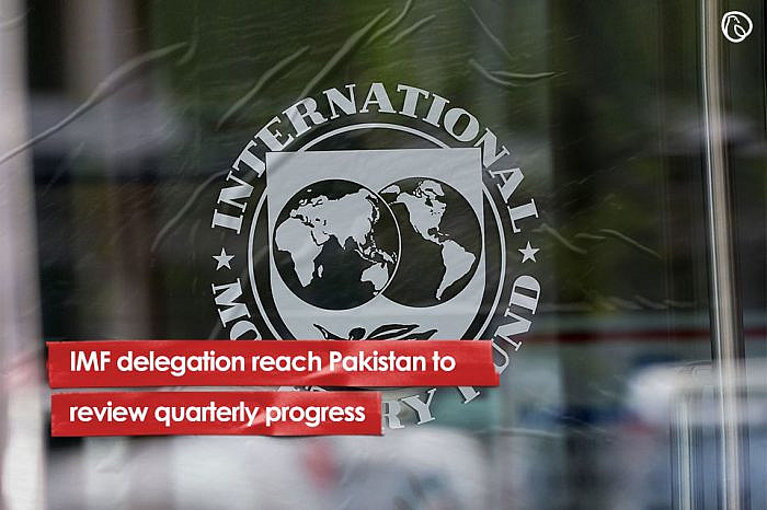 IMF delegation reach Pakistan to review quarterly progress
