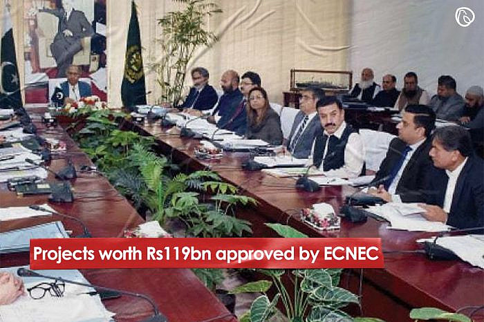 Projects worth Rs119bn approved by ECNEC