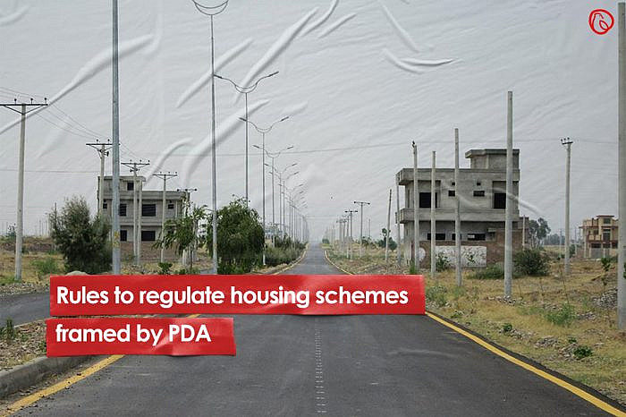 Rules to regulate housing schemes framed by PDA