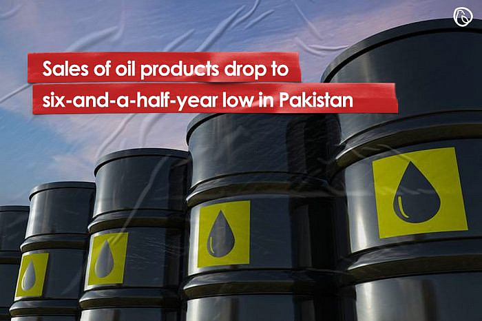 Sales of oil products drop to six-and-a-half-year low in Pakistan