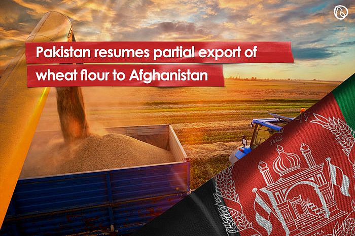 Pakistan resumes partial export of wheat flour to Afghanistan