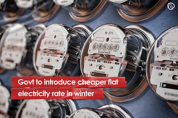 Govt to introduce cheaper flat electricity rate in winter