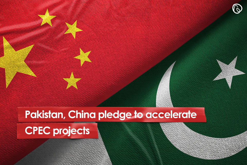 Pakistan, China pledge to accelerate CPEC projects