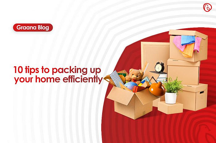 10 tips to packing your home efficiently