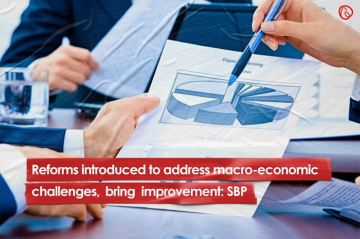 Reforms introduced to address macro-economic challenges, bring improvement: SBP