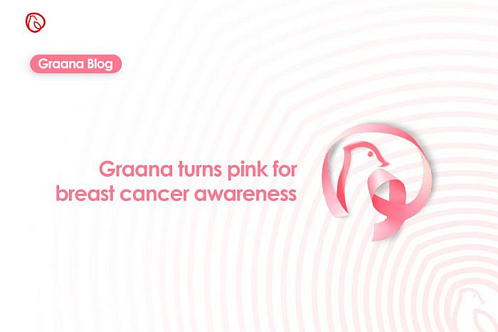 Graana turns pink for breast cancer awareness