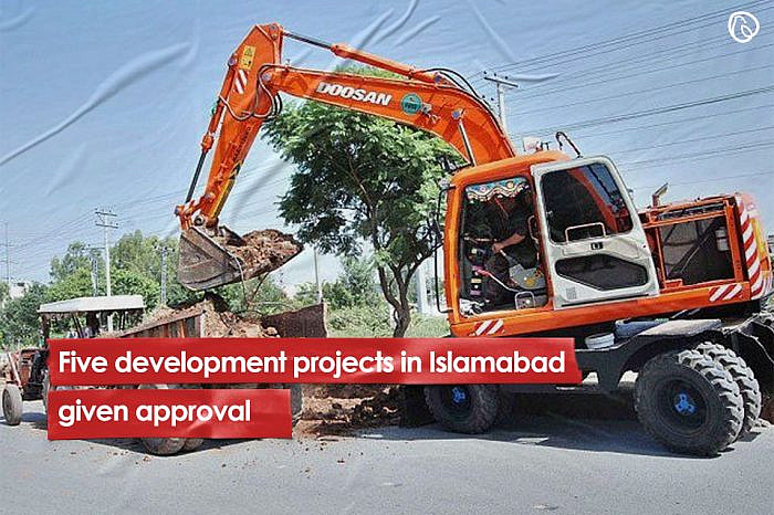 Five development projects in Islamabad given approval