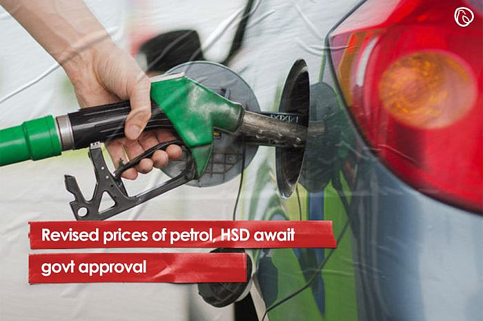 Revised prices of petrol, HSD await govt approval