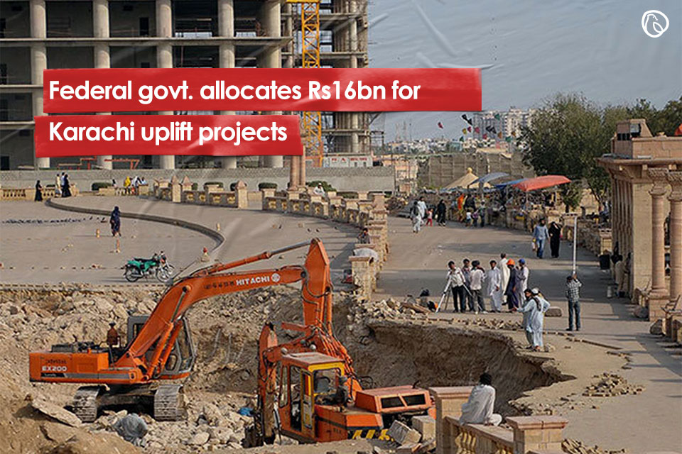 Funds allocated for uplift projects in karachi