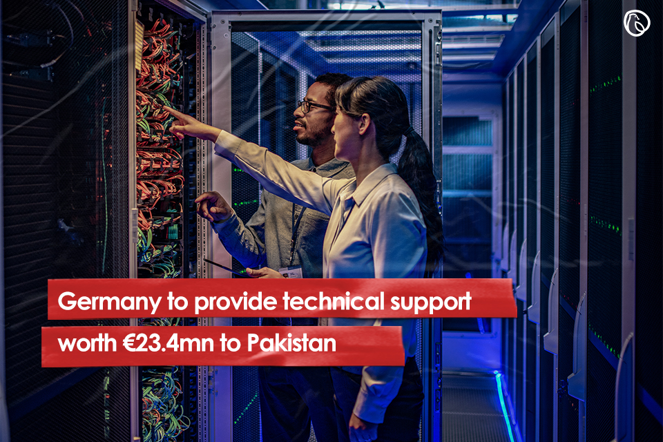 Germany to provide technical support worth €23.4m to Pakistan