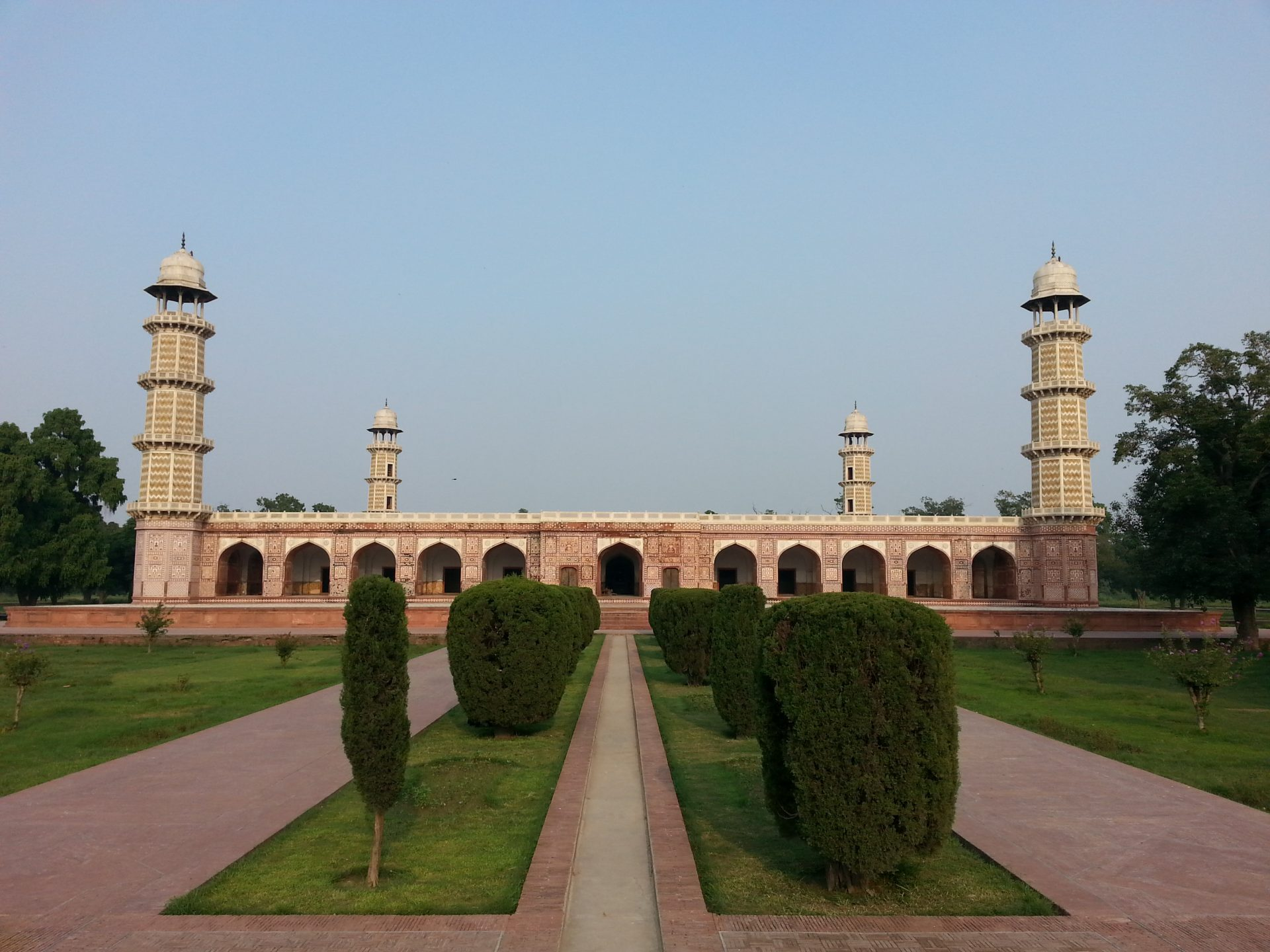Jahangir's tomb in lahore