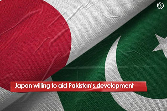 Japan willing to aid development in Pakistan