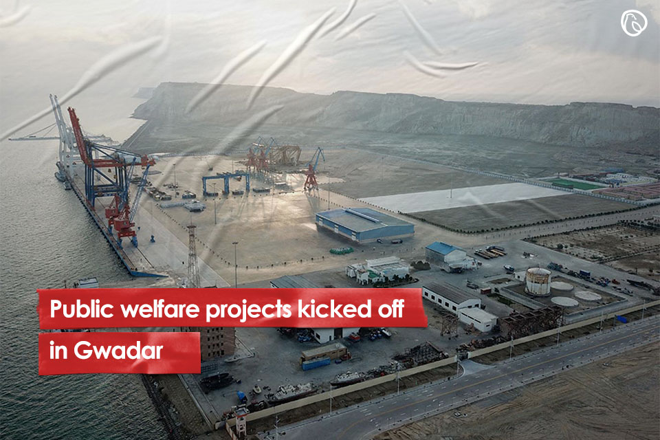 Welfare projects kicked off in Gwadar