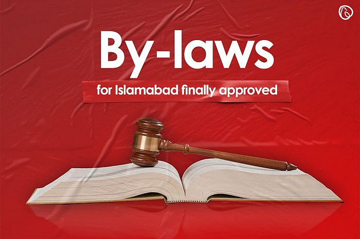 Breaking news:   CDA by-laws approved for Islamabad