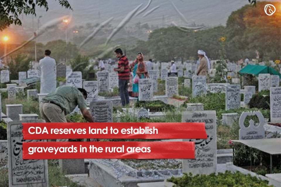 CDA reserves land to establish graveyards in the rural areas