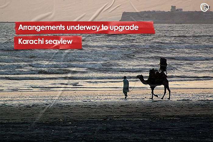 Arrangements underway to upgrade Karachi seaview