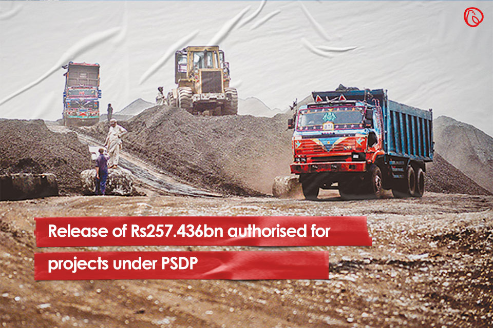 Release of Rs257.436bn authorised for projects under PSDP