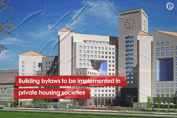 Building by-laws to be implemented in private housing societies