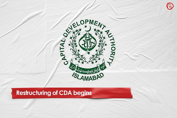 Restructuring of CDA begins