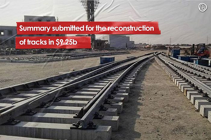 Summary submitted for the reconstruction of tracks in $9.25b