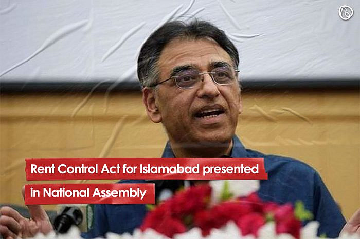 Rent Control Act for Islamabad presented in National Assembly