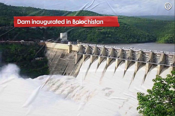 Dam inaugurated in Balochistan