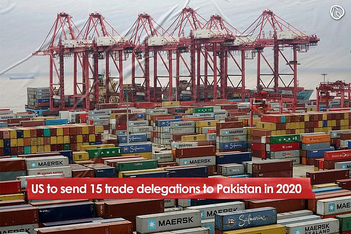 US to send 15 trade delegations to Pakistan in 2020