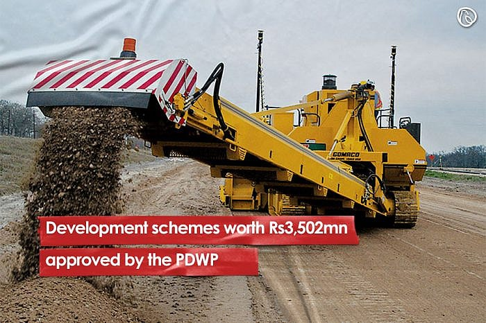 Development schemes worth Rs3,502mn approved by the PDWP