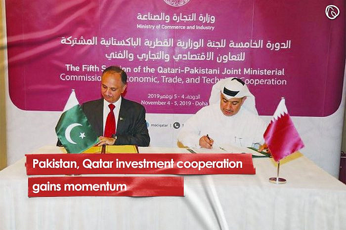 Pakistan, Qatar investment cooperation gains momentum