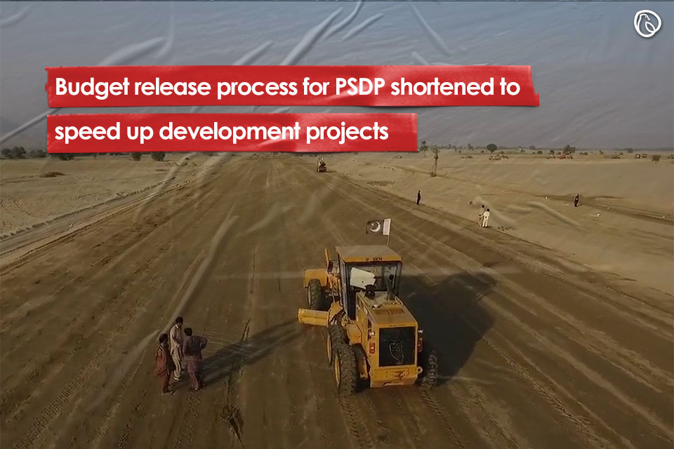Budget release process shortened to speed up development projects