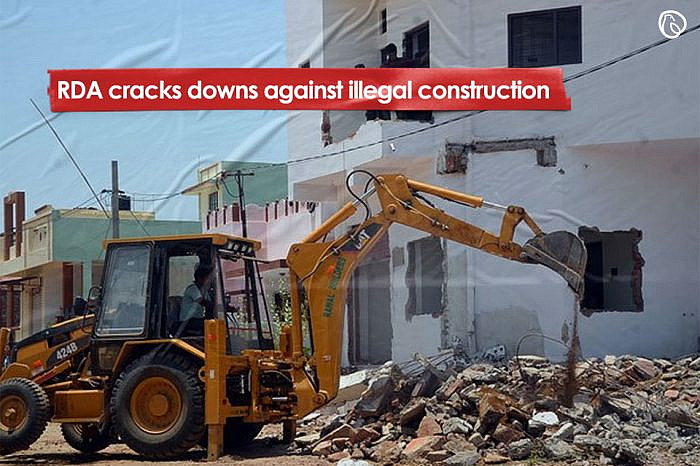 RDA cracks downs against illegal construction