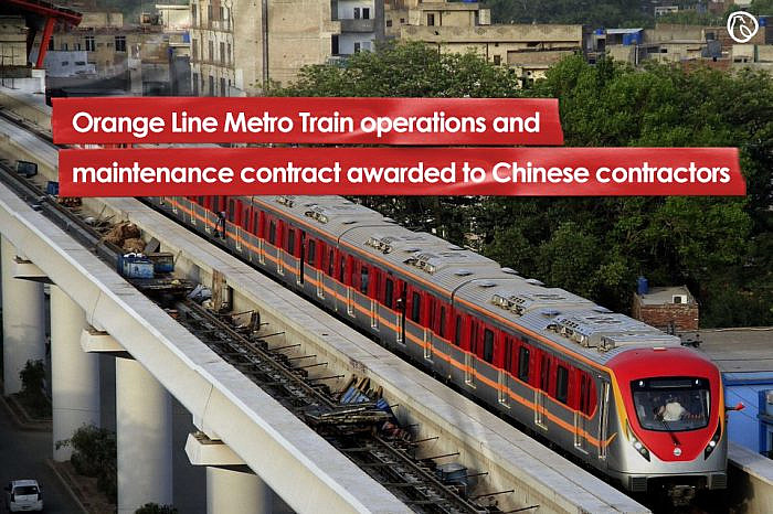 Orange Line Metro Train operations and maintenance contract awarded to Chinese contractors