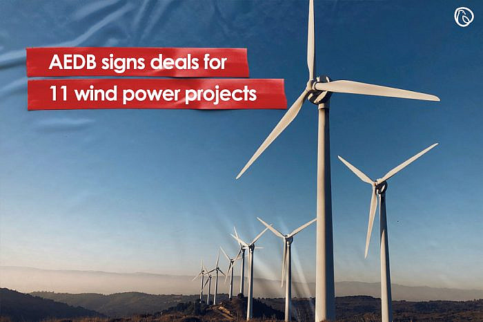 AEDB signs deals for 11 wind power projects