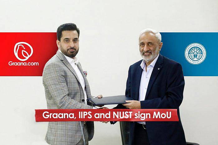 Graana, IIPS and NUST sign MoU