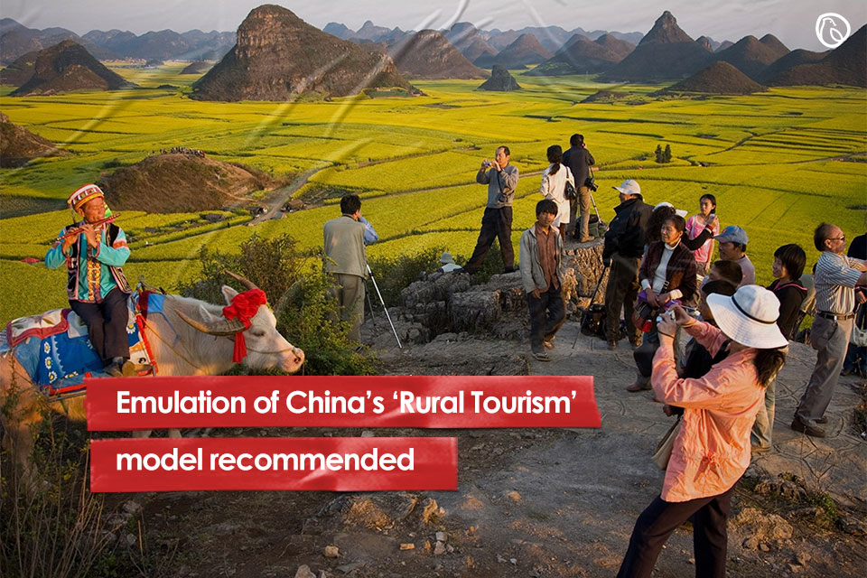 Emulation of China's 'Rural Tourism' model recommended