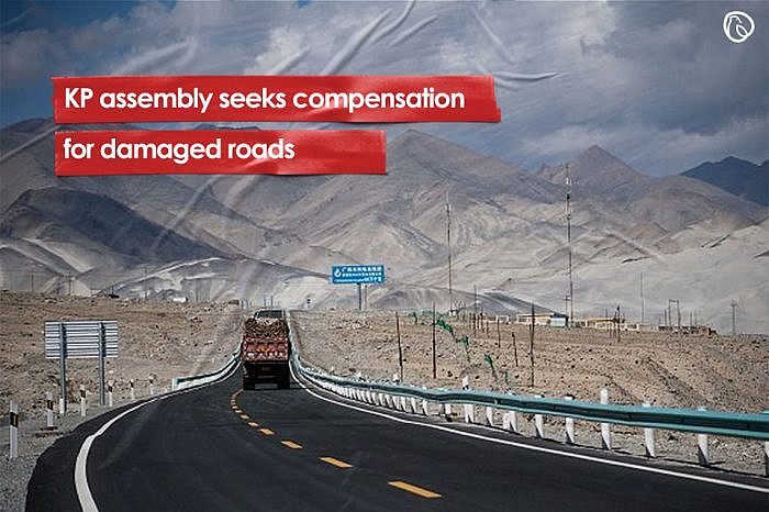 KP assembly seeks compensation for damaged roads