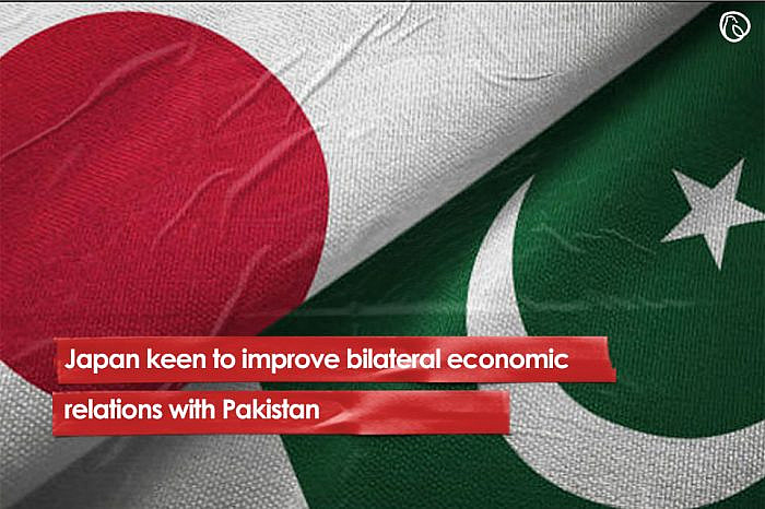 Japan keen to improve bilateral economic relations with Pakistan
