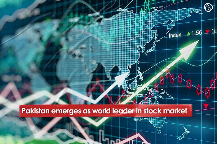 Pakistan emerges as world leader in stock market