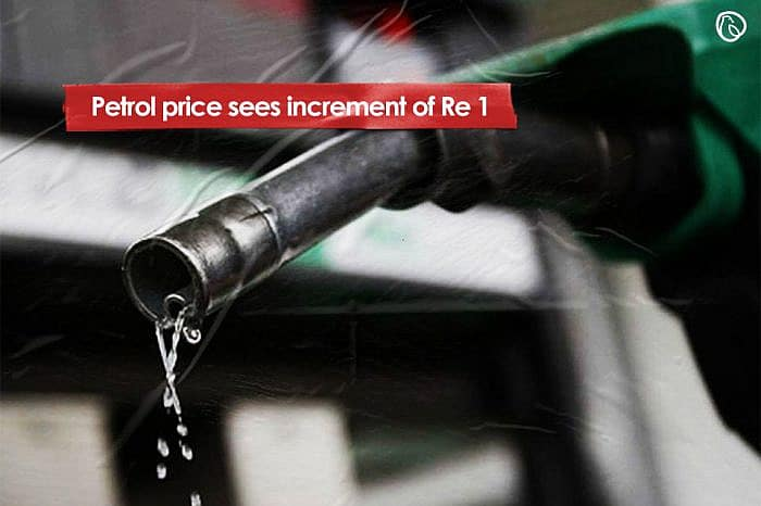 Petrol price sees increment of Re 1 for November