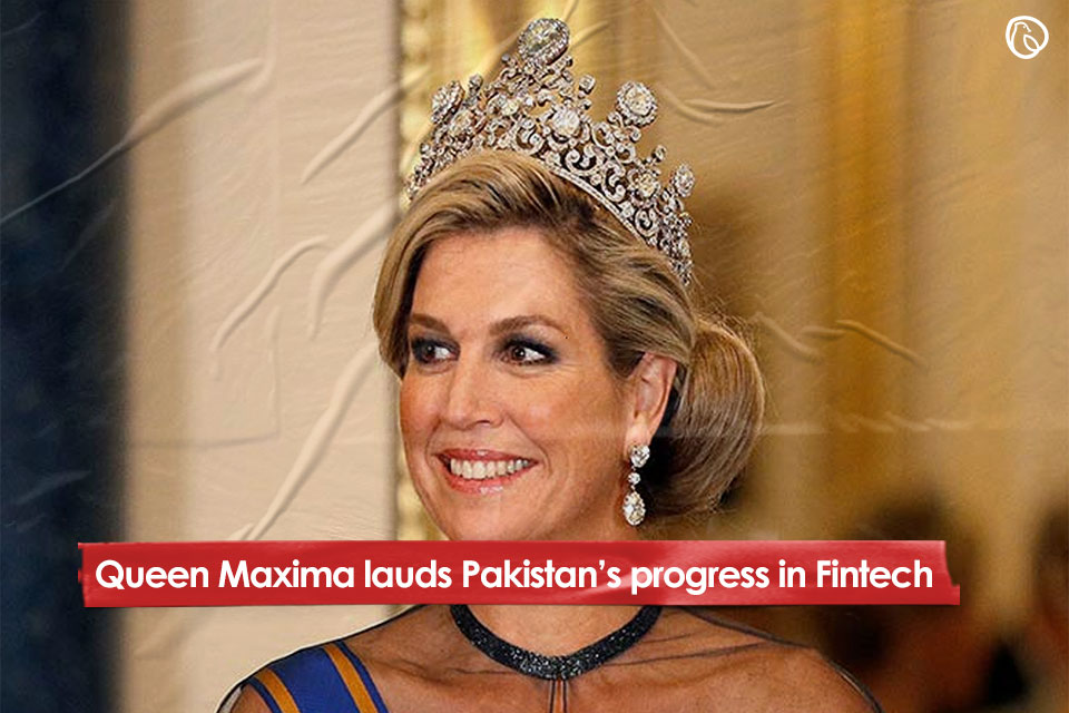 Queen Maxima lauds Pakistan's progress in Fintech